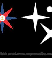 Molde de Marinheiro- Estrela - para EVA, Feltro e Artesanato