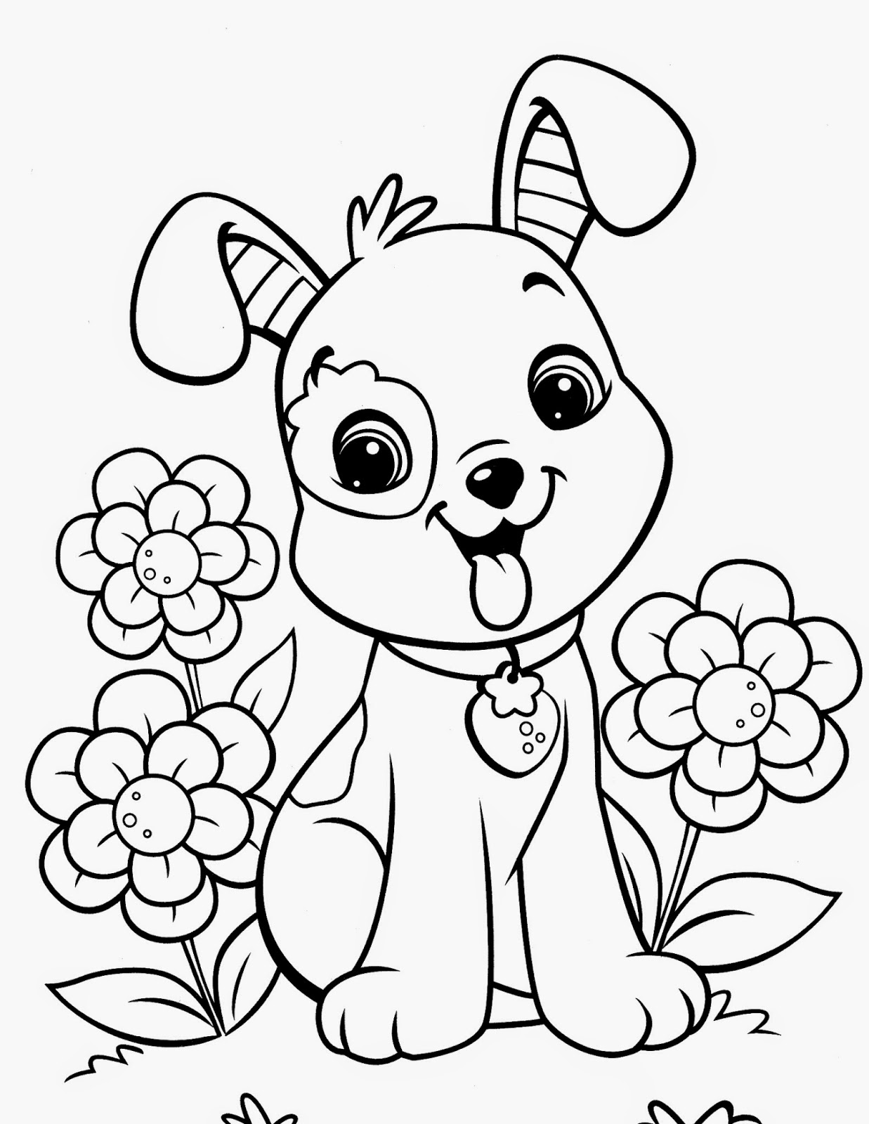 Desenho Para Colorir Cachorro Imagens E Moldes Com Br
