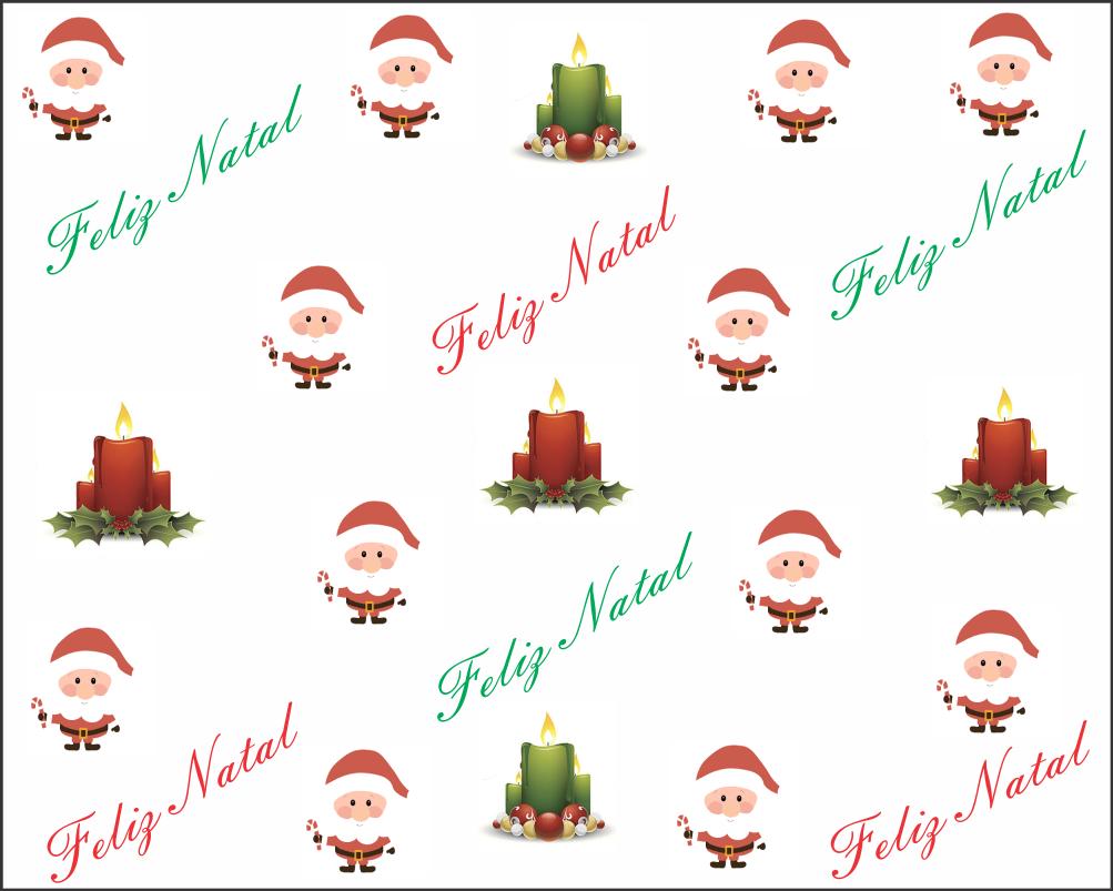 papel digital de feliz natal