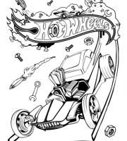 Arquivos Desenhos Para Pintar Hot Wheels