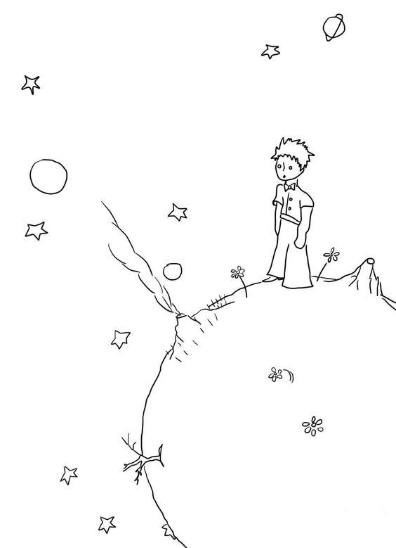 Desenhos Para Colorir Do Pequeno Principe