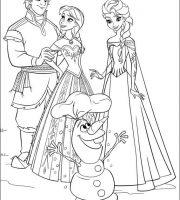 Arquivos Desenhos Para Pintar Da Frozen Elsa E Anna
