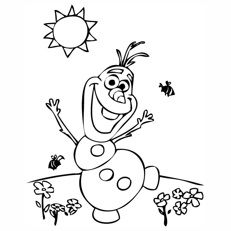 Imagens De 2018 >> Desenhos para Colorir da Frozen - Olaf
