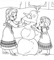 Arquivos Desenhos Para Pintar Da Frozen E Anna
