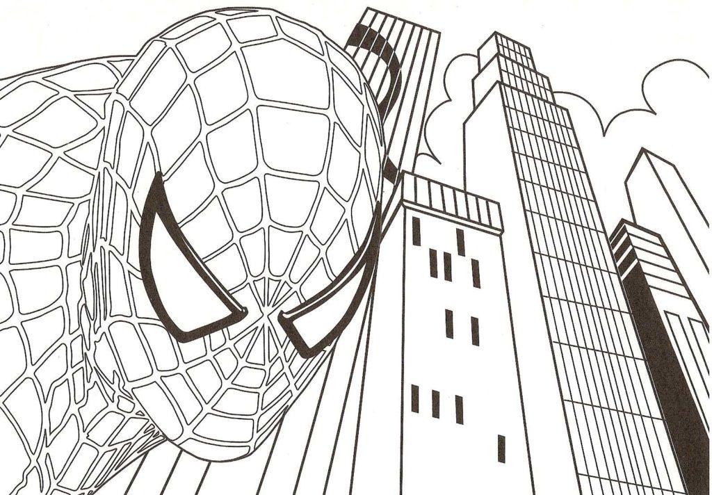 Desenhos Para Colorir Do Homem Aranha