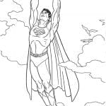 Desenhos para Colorir do Superman