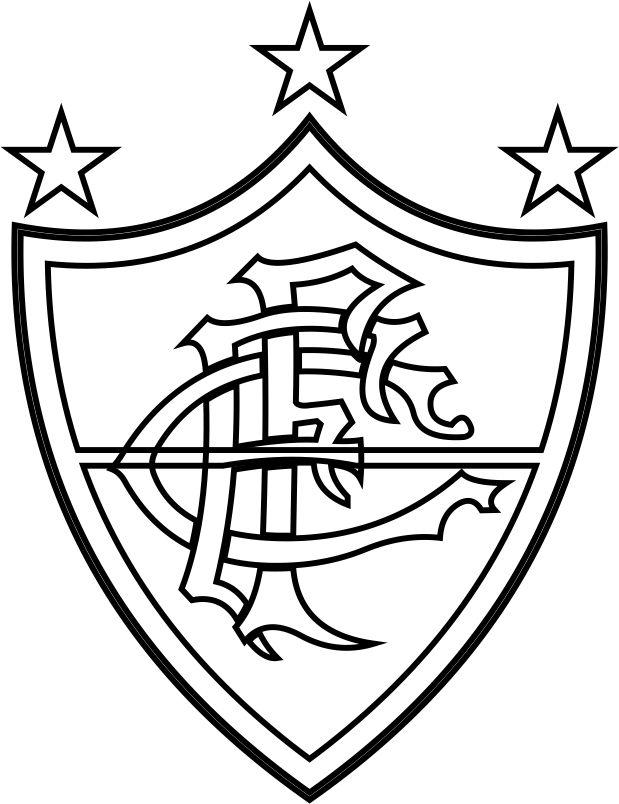 Emblema Do Fluminense Do Rio De Janeiro Rj Para Colorir 12