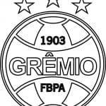 EMBLEMA DO GRÊMIO DE PORTO ALEGRE-RS PARA COLORIR 13