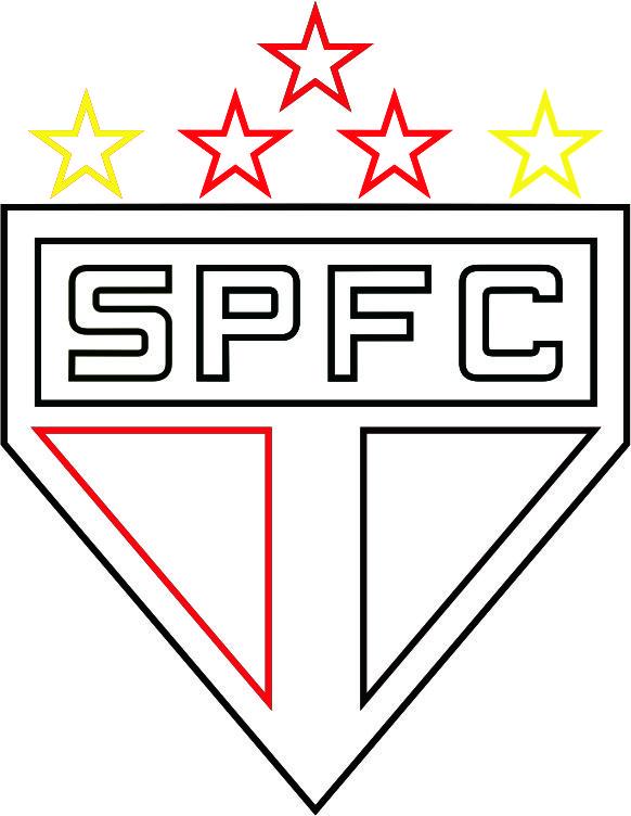 Emblema Do São Paulo Futebol Clube De São Paulo Sp Para