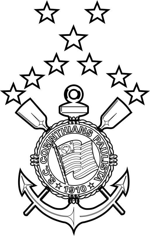 Emblema Do Sc Corinthians Paulista De São Paulo Sp Para