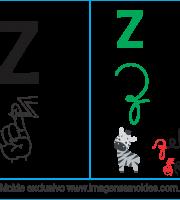 Imagens, Cartazes de Letras em Libra Letra Z - Letra Z Alfabeto