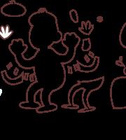 Molde mimico Circo FELTRO - EVA e Artesanatos - 17