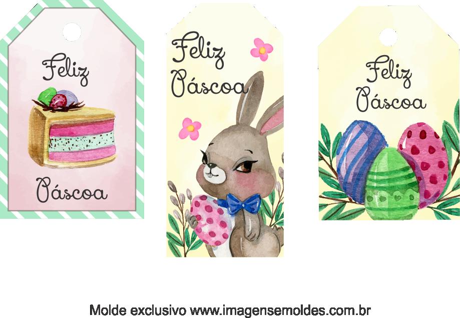 Tags Grátis Páscoa para Imprimir 8, Ostern-Tag-Vorlage, easter tag template, plantilla de etiqueta de Pascua