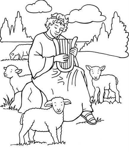 Desenhos Para Colorir Biblicos Imagens E Moldes Com Br