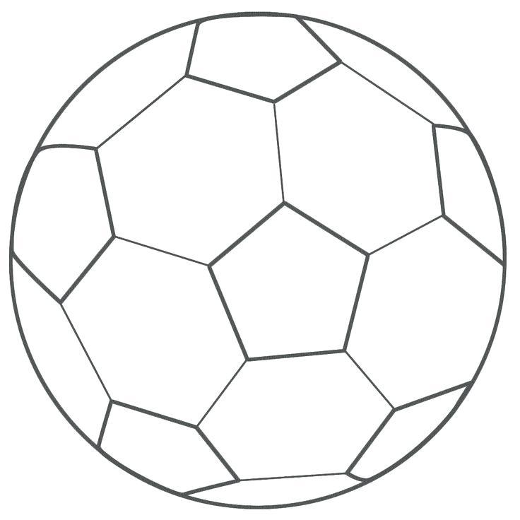 Desenhos Para Colorir Bola De Futebol