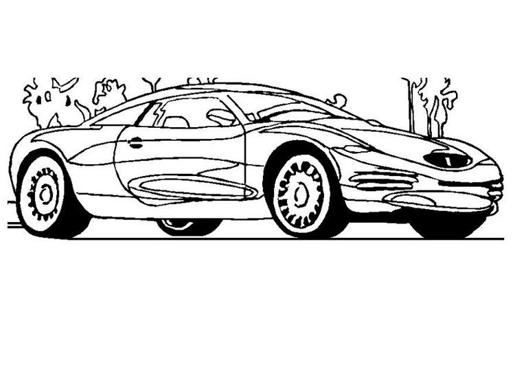 Desenho Para Colorir De Carros Disney: DESENHOS PARA COLORIR CARROS