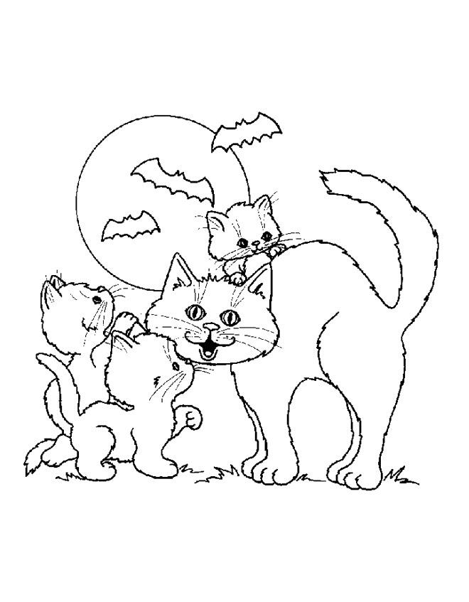 Desenhos Para Colorir Dia Das Bruxas
