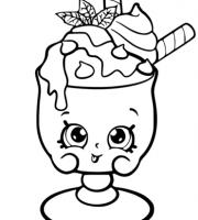 arquivos desenhos infantis para pintar da de sorvetes