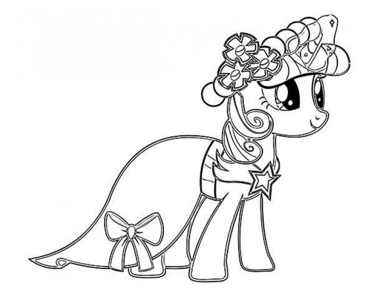 Celestia Kleurplaat My Little Pony Separamos Lindos Desenhos De Unic 243 Rnio Para Colorir