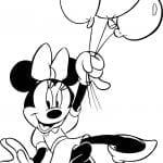 Desenhos Infantis para Colorir da Minnie Mouse