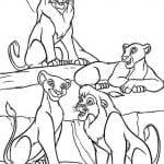 Desenhos para Colorir O Rei Leão