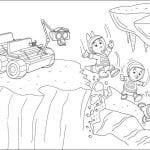 Desenhos para Colorir Os Backyardigans