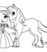 Arquivos Pdf Para Colorir Unicornio