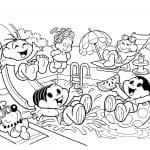 Desenhos para Colorir da Turma da Mônica