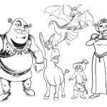 Desenhos para Colorir do Shrek