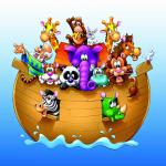 Imagem Arca de Noé – Background 2 PNG – para Personalizados