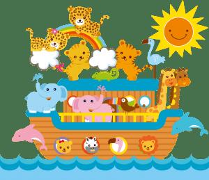 Imagem Arca de Noé - Background 4 - Personalizados