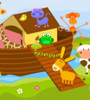 Imagem Arca de Noé - Background 5 - Personalizados