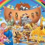 Imagem Arca de Noé – Background PNG – para Personalizados