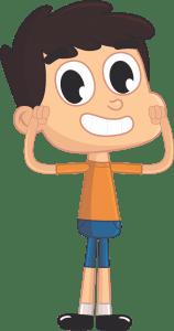 Imagem de desenhos Bob Zoom Menino 3 Personagens