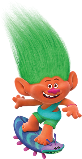 Imagens aspen trolls 01, Personagens Filme Trolls