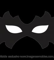 Molde de Carnaval - Máscara 5 - Molde para EVA - Feltro