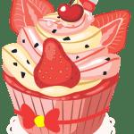 Cupcake vetorizado 06