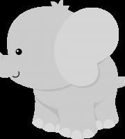 Imagem de Bichinhos e Animais - Elefante - Personalizados