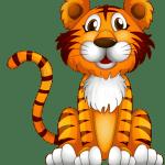 Imagem de Animais e Arca de Noé Tigre PNG – para Personalizados