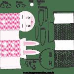 Molde de Caixa de Páscoa 1 para Feltro – EVA e Artesanatos