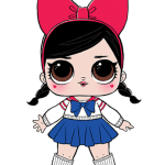 Bonecas LOL – Serie 2 – Cosplay Club Fanime PNG