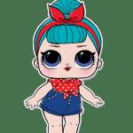 Bonecas LOL – Serie 2 – Retro Club B.B. Bop PNG