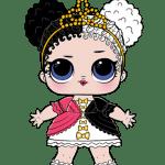 Bonecas LOL – Serie 2 – Storybook Club Heartbreaker PNG
