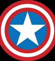 Capitão América Logo PNG