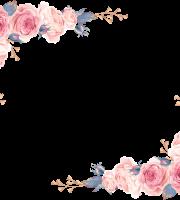 Modelo, Imagem de Flores 5 em png para Casamento
