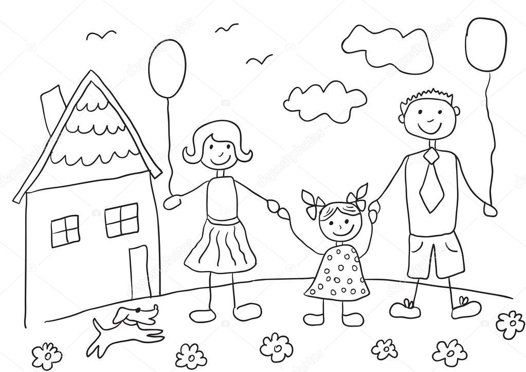 Desenhos Para Colorir Crianca Feliz