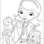 Desenhos Infantis para colorir da Doutora Brinquedos