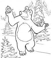 Arquivos Pdf Infantis Para Colorir Masha E O Urso
