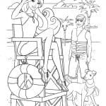 Desenhos Infantis para colorir da Barbie