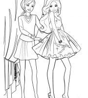 Arquivos Pdf Infantis Para Colorir Da Barbie
